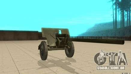 Arma ZiS-2 para GTA San Andreas