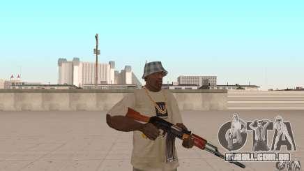 AK 47 para GTA San Andreas