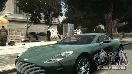 Aston Martin One 77 2012 para GTA 4