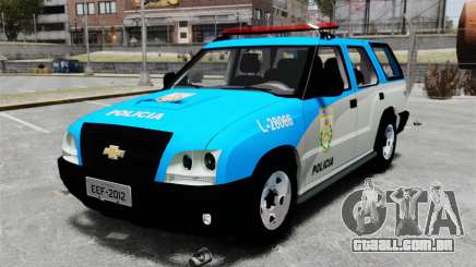 Chevrolet Blazer 2010 PMERJ ELS para GTA 4
