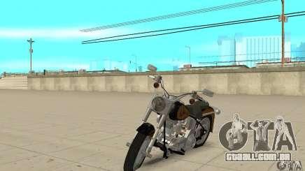 Harley Davidson FLSTF (Fat Boy) v2.0 Skin 3 para GTA San Andreas