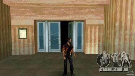 Senhor fogo com jeans čërnimi para GTA Vice City
