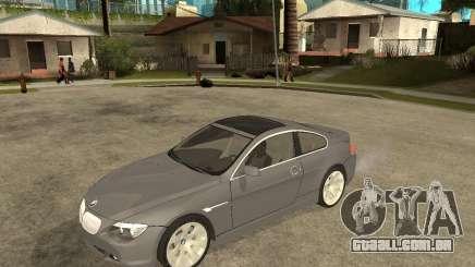 BMW 645Ci 04 para GTA San Andreas