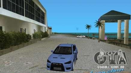 Mitsubishi Lancer Evo X para GTA Vice City