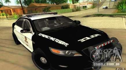 Ford Taurus 2011 LAPD Police para GTA San Andreas