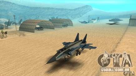 MiG-31 Foxhound para GTA San Andreas