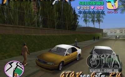 Audi S8 Tuning para GTA Vice City