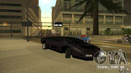 Dodge M4S Turbo Interceptor Wraith 1984 para GTA San Andreas
