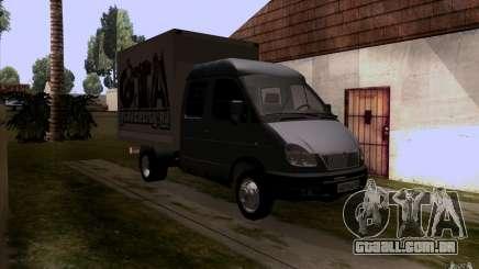 Gazela 33023 para GTA San Andreas