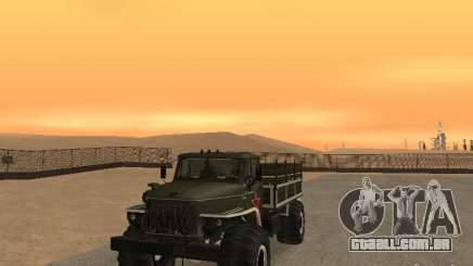 Desfile 43206 Ural para GTA San Andreas