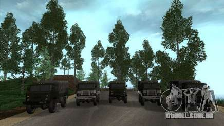 GAZ 66 Parade para GTA San Andreas