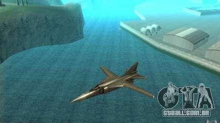 MiG-23 para baixo o Flogger para GTA San Andreas