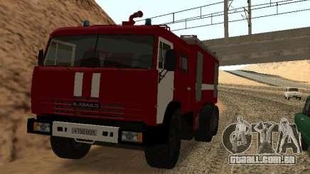 KAMAZ 53229 bombeiro para GTA San Andreas