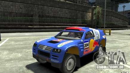 Volkswagen Touareg Rally para GTA 4