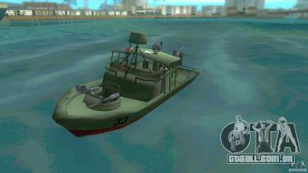 Rio do barco de patrulha Mark 2 (Player_At_Wheel) para GTA Vice City