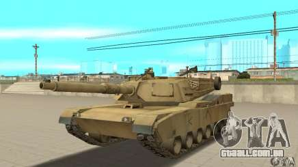 Tanque M1A2 Abrams para GTA San Andreas