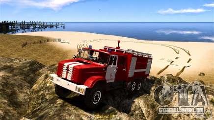 ZIL 433474 bombeiro para GTA 4
