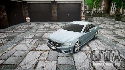 Mercedes Benz CLS 63 AMG 2012 para GTA 4