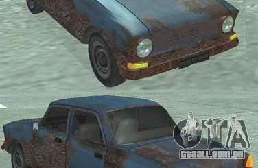 Rusty Moskvich 408 para GTA San Andreas