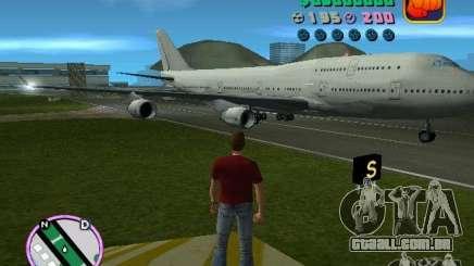 Boeing 747 para GTA Vice City