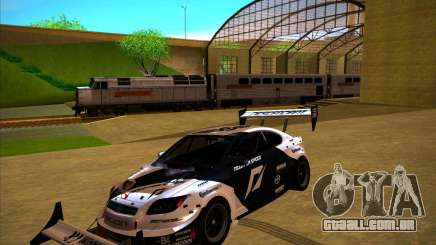 Scion tC preto para GTA San Andreas