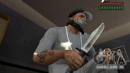 A faca do stalker # 1 para GTA San Andreas