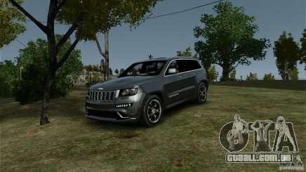 Jeep Grand Cherokee SRT8 para GTA 4