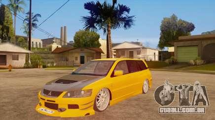 Mitsubishi Lancer Evolution IX Wagon MR Drift para GTA San Andreas