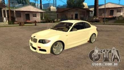 Bmw 135i coupe Police para GTA San Andreas