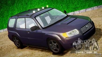 Subaru Forester v2.0 para GTA 4