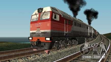 RZD 2te116u-0040 para GTA San Andreas