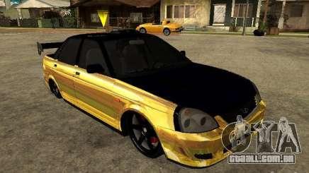 Lada 2170 Priora GOLD para GTA San Andreas