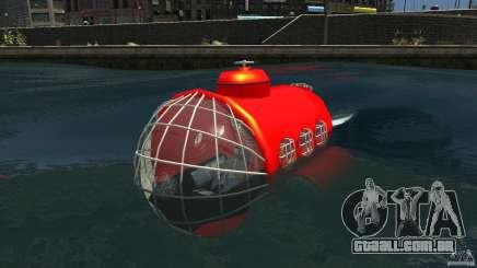 Submarine para GTA 4