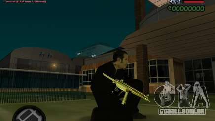 MP5 Gold para GTA San Andreas