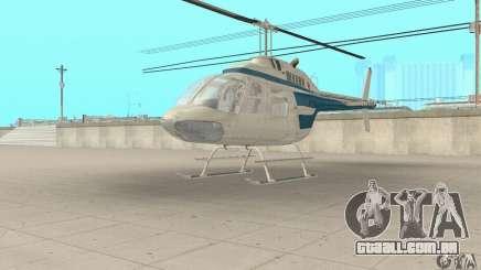 Bell 206B JetRanger II para GTA San Andreas