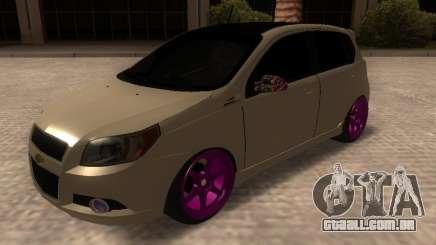 Chevrolet Aveo Tuning para GTA San Andreas