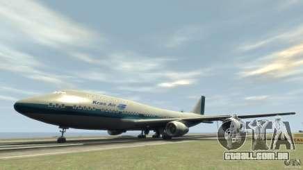 Boening 747-400 Kras Air para GTA 4