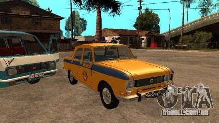 Versão inicial do AZLK 2140 milícia para GTA San Andreas