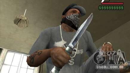 A faca de n º 3 do perseguidor para GTA San Andreas