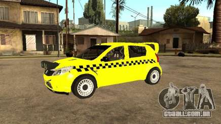 Dacia Sandero Speed Taxi para GTA San Andreas