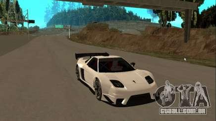 Acura NSX Sumiyaka para GTA San Andreas