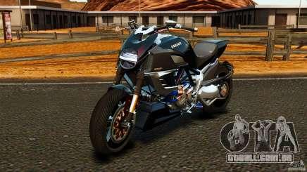 Ducati Diavel Carbon 2011 para GTA 4