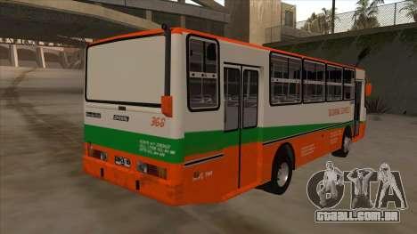 Tacurong Express 368 para GTA San Andreas vista direita