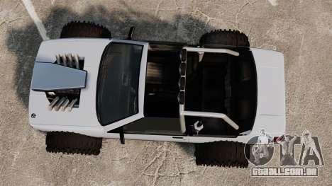 Jeep Futo Final para GTA 4 vista direita