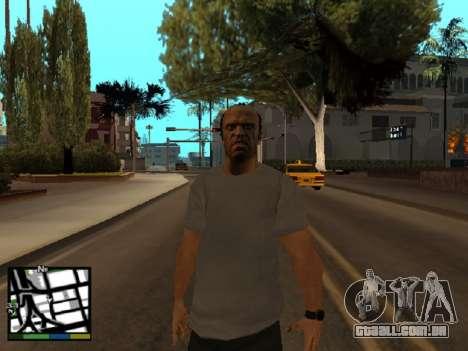 Trevor Philips de GTA 5 para GTA San Andreas terceira tela