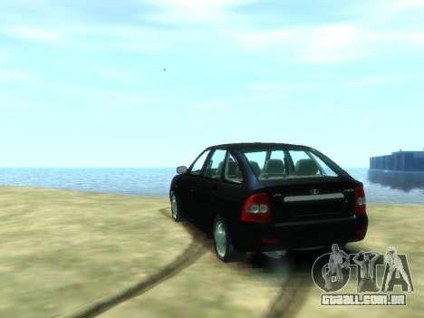 Lada Priora para GTA 4 traseira esquerda vista