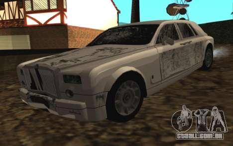 Rolls-Royce Phantom v2.0 para GTA San Andreas vista interior