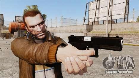 Autocarregáveis v2 de pistola Glock 17 para GTA 4 terceira tela