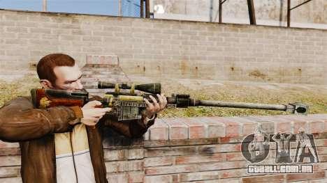 Fuzil anti-material para GTA 4