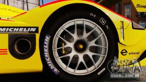 Porsche RS Spyder Evo para GTA 4 vista de volta